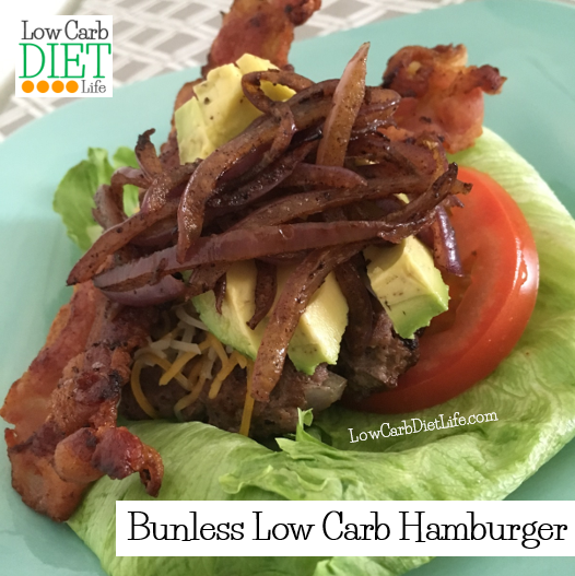 Low Carb Hamburger
