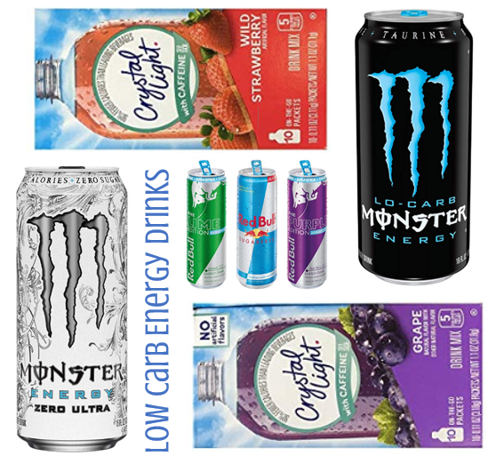 Low Carb Energy Drinks – Low Carb Diet Life