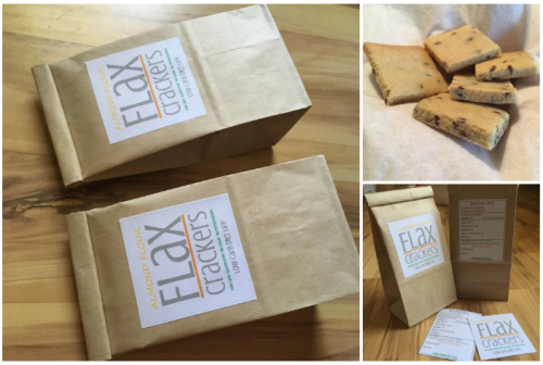 low carb flax crackers