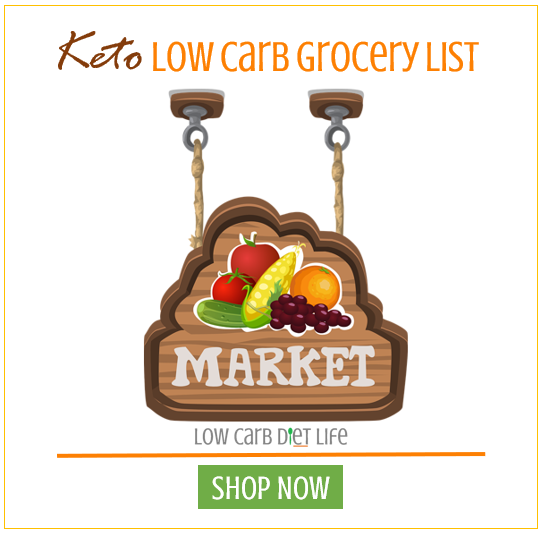 keto low carb grocery list