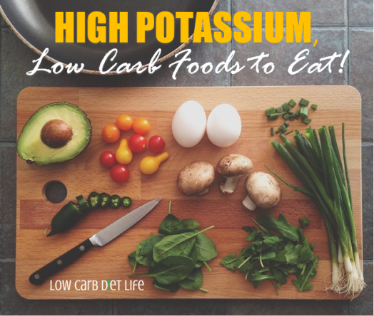 High Potassium Low Carb Foods