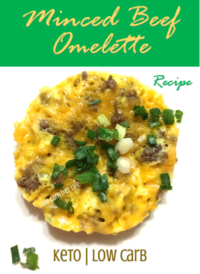 Minced Beef Omelette