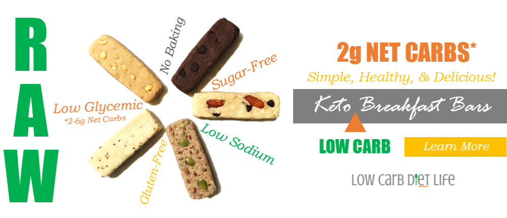 Keto Breakfast Bars Recipe Ad