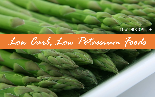 Low Carb Low Potassium Foods Graphic