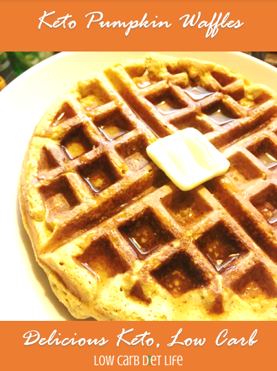 Low Carb Pumpkin Waffles