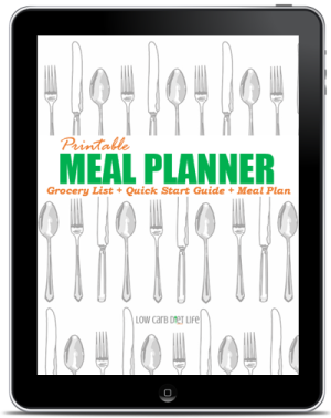 Printable Meal Planner Cover