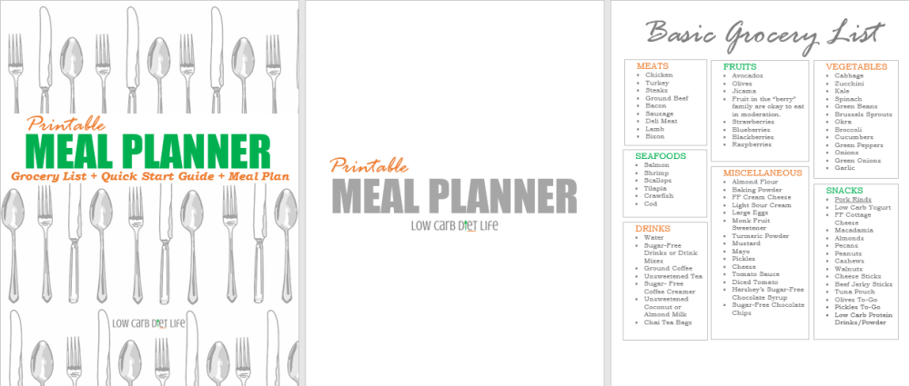 Printable Meal Planner (Sneak Peek)